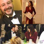 Salvini-Isoardi, per la cena non badano al look