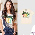 Elisabetta Gregoraci tshirt Gucci 2