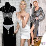 Elsa Hosk Victoria's Secret Fantasy Bra abiti David Koma e Attico