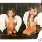 Gigi e Bella Hadid bambine