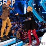 Ilary Blasi GF Vip 12 puntata abito Diesel stivali Le Silla 1