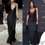 Kim Kardashian abito Gucci 2