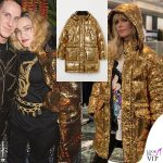 Madonna Barbara Snellenburg giacca paillettes Moschino for H&M