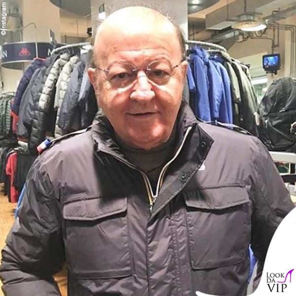 Massimo Boldi giacca Kway
