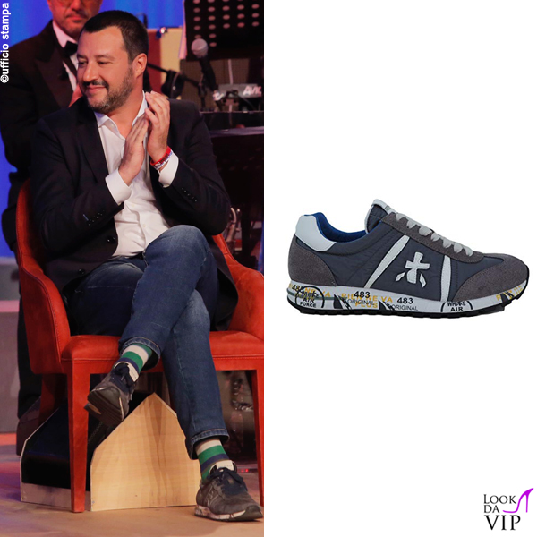Matteo Salvini sneakers Premiata