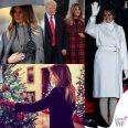 Melania Trump cappotti per le feste