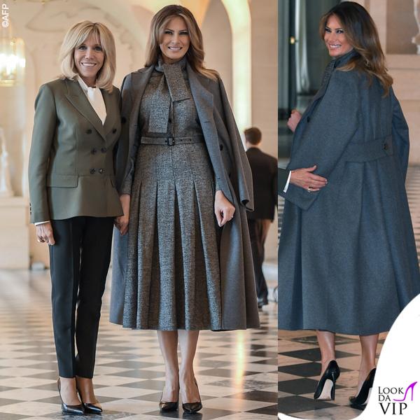 Melania Trump cappotto Dior 2