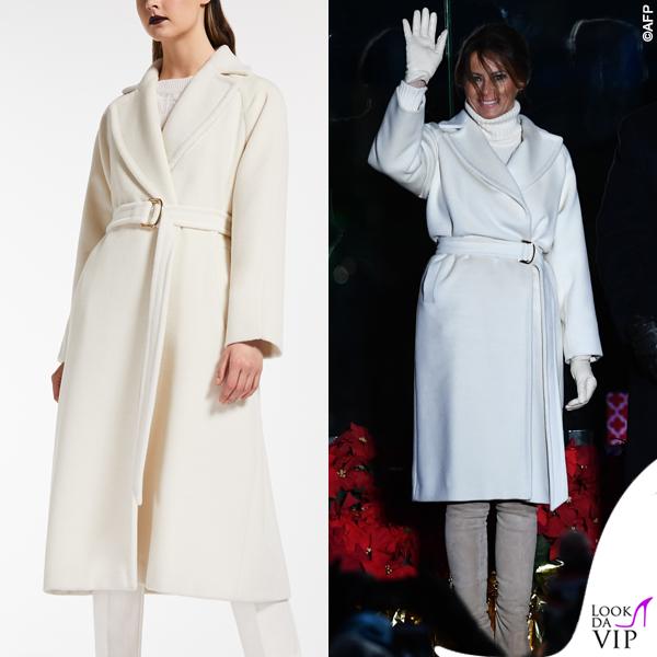 Melania Trump cappotto Max Mara 2