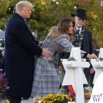 Melania Trump cappotto Off White