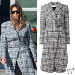 Melania Trump cappotto Off White 2