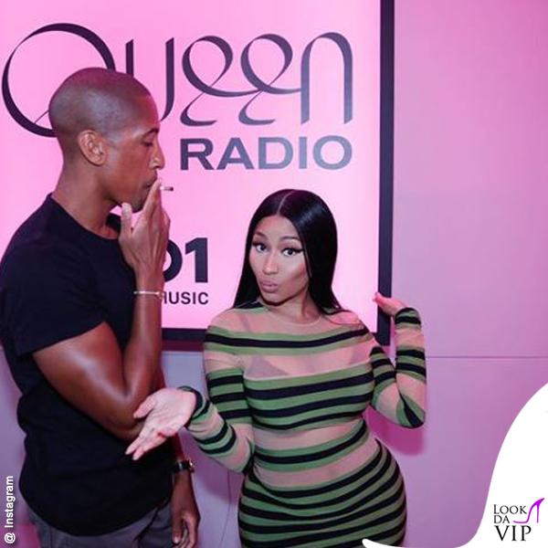 Nicki Minaj abito Norma Kamali