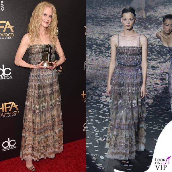 Nicole Kidman abito Dior 3