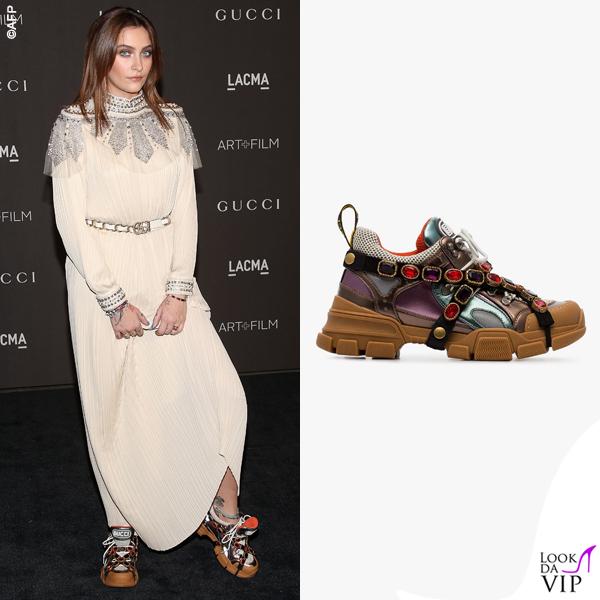 Paris Jackson sneakers Gucci 2