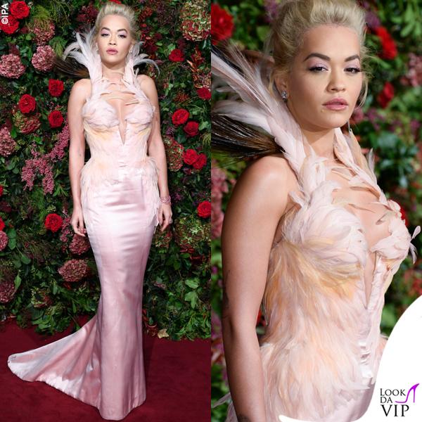 Rita Ora abito Thierry Mugler 2