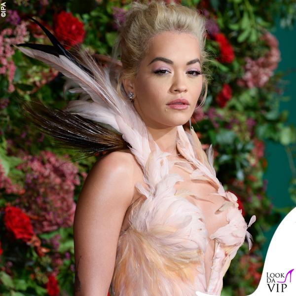 Rita Ora abito Thierry Mugler
