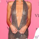 Victoria's Secret Fashion Show after party Bella Hadid abito Julien Macdonald 2