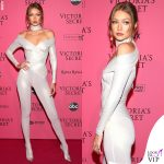 Victoria's Secret Fashion Show after party Gigi Hadid tuta Versace