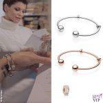 Alessandra Amoroso gioielli Pandora