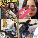 Aurora Ramazzotti mostra i superpoteri