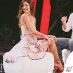 Belen Rodriguez 3 puntata Tu si que vales body Blumarine gonna Uel Camilo scarpe Alevi 2
