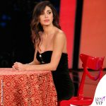 Belen Rodriguez TSQV 7 puntata abito Veronica Beard scarpe Le Silla 1