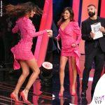 Belen Rodriguez TSQV 8 puntata abito Magda Butrym 1