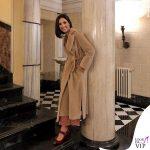 Caterina Balivo cappotto Marella