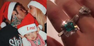 Chiara Ferragni Fedez anelli di Natale