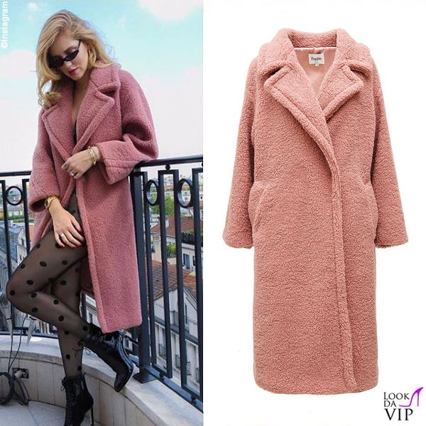 Chiara Ferragni cappotto Frankie Shop