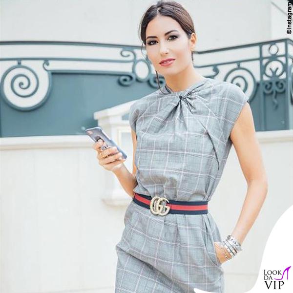 Elisabetta Gregoraci cintura Gucci
