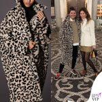 Giovanna Battaglia cappotto Max Mara 2