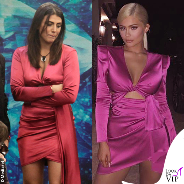Kylie Jenner vestito Peter Dundas