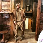 Heidi Klum cappotto Max Mara