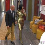 Ilary Blasi 9 puntata GfVip abito Cinzia Diddi stivali Casadei 5