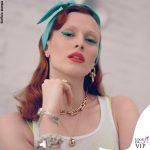 Karen Elson pubblicità Tiffany and Co