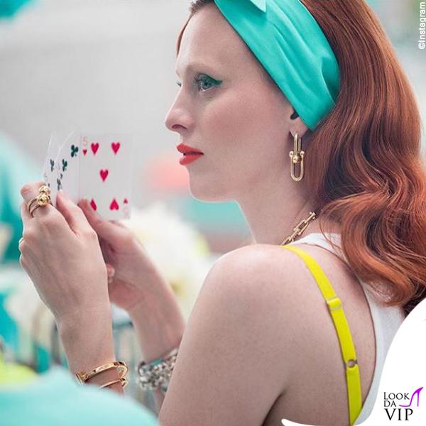 Karen Elson pubblicità Tiffany and Co 3