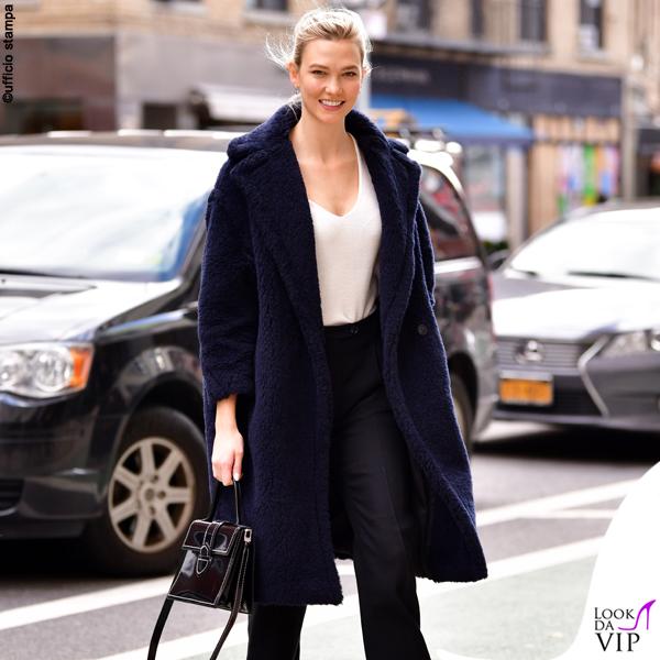 Karlie Kloss cappotto Max Mara 2