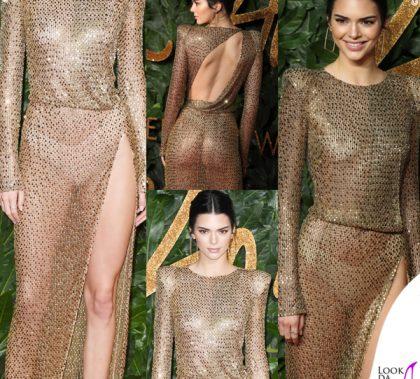 Kendall Jenner abito Julien Macdonald