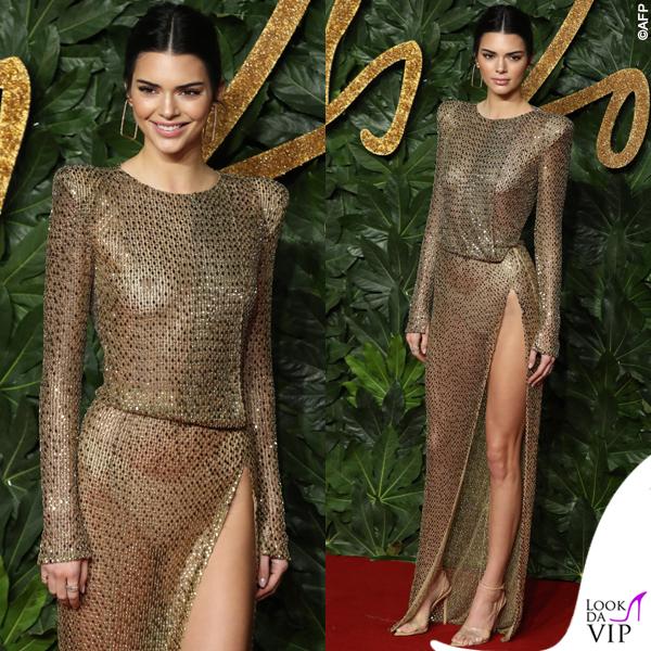 Kendall Jenner abito Julien Macdonald 5