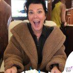 Kris Jenner cappotto Max Mara