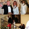 Melania Trump abito Celine