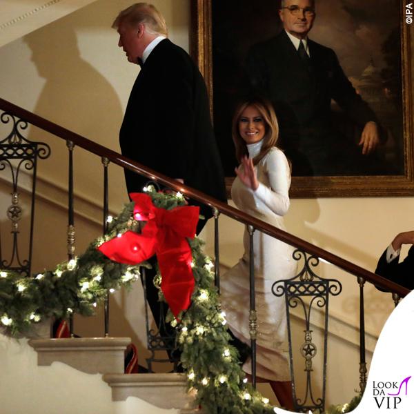 Melania Trump abito Celine 3