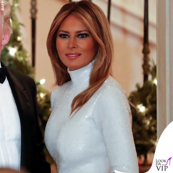 Melania Trump abito Celine 6