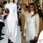 Melania Trump abito Celine 8