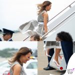 "Melania Trump, gambe ""all'aria"""