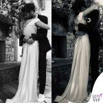 Miley Cyrus Liam Hemsworth matrmonio abito Vivienne Westwood sneakers Vans 4