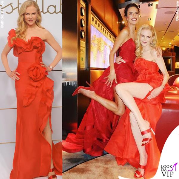 Nicole Kidman abito Ermanno Scervino