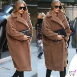 Rosie Huntington Whiteley cappotto Max Mara