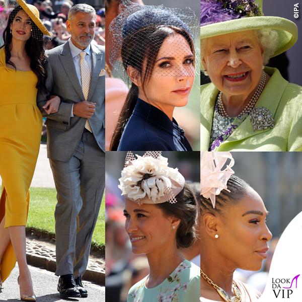Royal Wedding look Clooney Beckham Middleton Williams