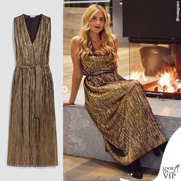 online store 7f250 a0380 Valentina Ferragni abito Max and co - Look da Vip